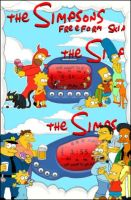 Simpsons Freeform by carlosp by WinampSkinners