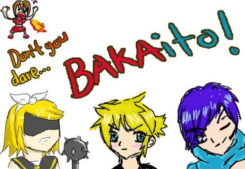 Vocaloids in a Nutshell xD by LuziWonka