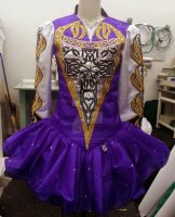 Purple and Gold by heidibirddesigns