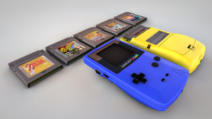 Game Boy Color #3 by kseim