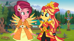 Sunset and Gloriosa: Defenders of Everfree by TheMexicanPunisher