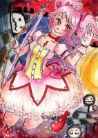 MADOKA ACEO by Mepotax