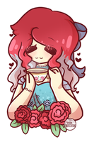{CM} Rose Tea by KodaConstellation
