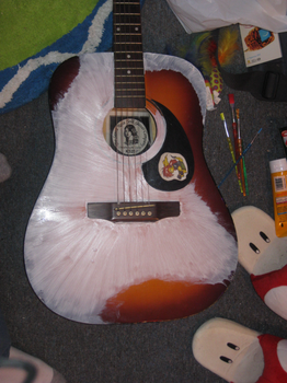 painting-guitar white layer 1 by not-fun