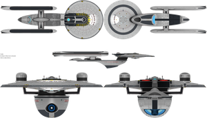 Excelsior Class NX by admiral-horton