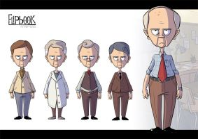 Flipbook Char2 Outfits by patrick-q