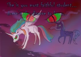 Twilight Sparkle queen of shadows, chapter 3 by raggyrabbit94