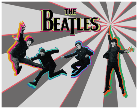 The Beatles by apartyintheUSA