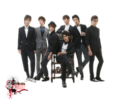 SUPER JUNIOR-M  Render by saredGfx