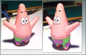 Patrick Star paperdoll by 404bot