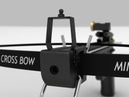 Hand Crossbow (close up) by TeoNikif