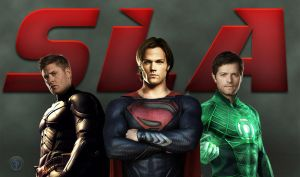 Supernatural Justice League by Shervell