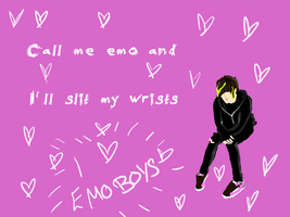 I love emo boys 2 by platinumfrost