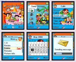 Paul Frank theme for T610 by cafe-cartel