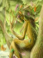 Dryad by yurionna