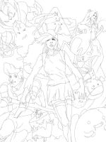 Adventure Time Inks by Animixter