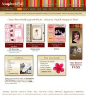 Scrapbook Flair Webpage by GSFaust