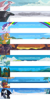 Dragonadopters Header History (Winter 2012/2013) by thazumi