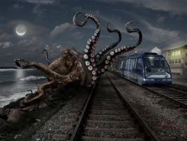 Kraken by ozplasmic