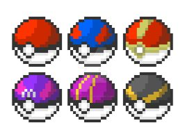 Pokeball Collection by jervenclark