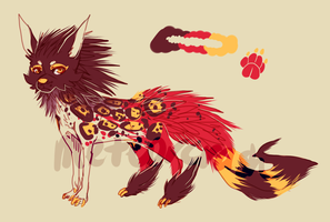 leopard dog auction {closed} by meteorcrash