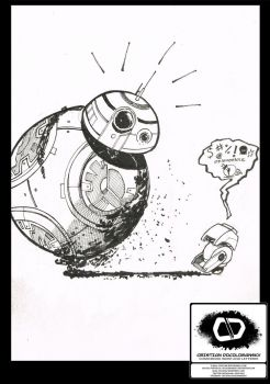 Bb8 Sketch by Docolomansky