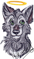 Gift badge for Victor by Nakouwolf