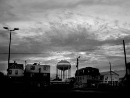 water tower by HighPotency