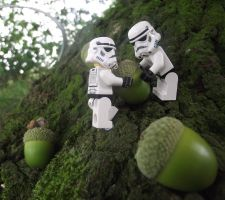 LEGO: Down By The Acorn Tree by Jennatrixx