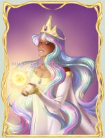 Princess Celestia by Silverwingfox
