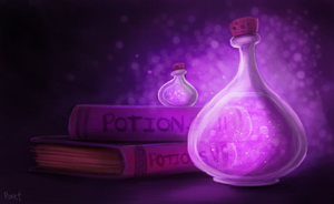 DAY 116. Potions (30 Minutes) by Cryptid-Creations
