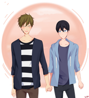 Casual Hand Holding by VAMPIRELG