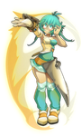 Feca for WAKFU by xa-xa-xa