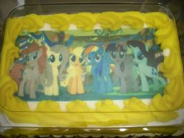 MLP-FiM Cake from the bakery by dragontamer272