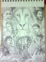 Chronicles of Narnia 3 Voyage of the Dawn Treader by FirewhiskeyRadz