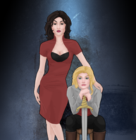 We make a good team, Miss Swan by erandil