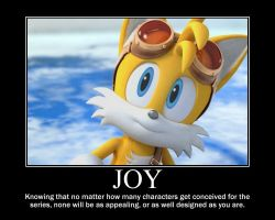 Sonic Motivational: Untouchable Character by MrNeedleMouse00