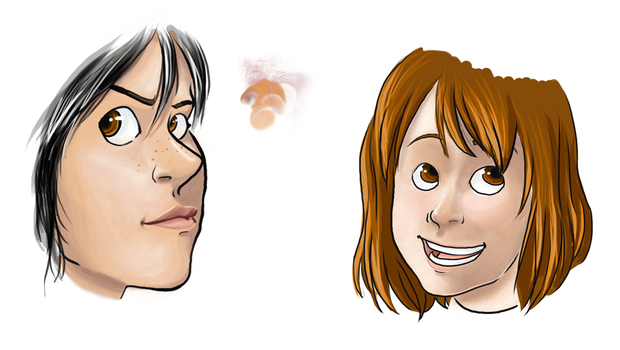 Faces by Mad-Adder