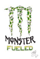monster fueled by A-T-G-4