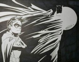 The Dynamic Duo by Sketch64
