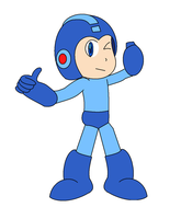 Megaman's Seal of Mega-Approval by Yagoshi