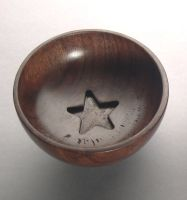 Star Bowl inside lid by Toilet-Gnome