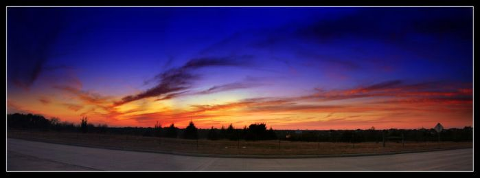 Shades of Blue Orange and Red by dj-iso