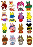 Generation Miffy X by likimonster
