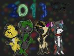 Happy new year! by CosmoDeath