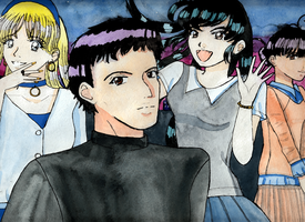 I don't know, but is something like a harem by inq-princess