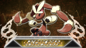 Mega Lopunny basic Wallpaper by Mienshanes