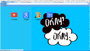 #TFIOS Google Chrome Theme by GrePinkWorld