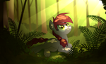Fern Forest by wingedwolf94