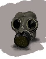 Gas Mask. by dinysrawr